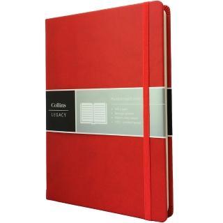 【Collins】Legacy系列-A5紅色 CL53N-03(橫線內頁)