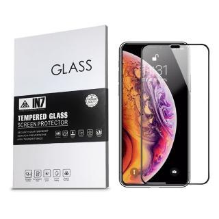 【IN7】APPLE iPhone XS Max 6.5吋 高透光 2.5D滿版鋼化玻璃保護貼(疏油疏水 鋼化膜)