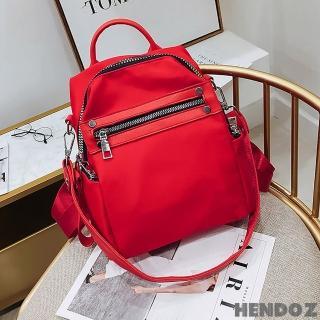 【HENDOZ】個性純色輕量三用後背包(共二色)