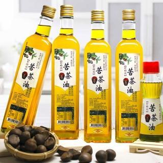 【e時代】台灣小農高山冷壓苦茶油季節限定品(4大瓶+1小瓶)