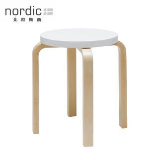 【北歐櫥窗】Artek Stool E60 Paimio 四腳圓凳(純白)
