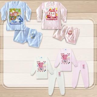 【波力、粉紅豬小妹】正版授權兒童卡通保暖三層棉套裝 任選-波力、粉紅豬小妹(波力、粉紅豬小妹)