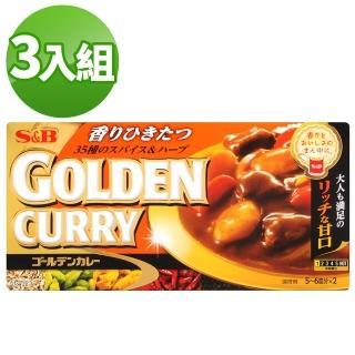 【S&B】金咖哩-甘口(198g*3入)