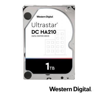 【Western Digital】Ultrastar DC HA210 1TB 3.5吋企業級硬碟(HUS722T1TALA604)