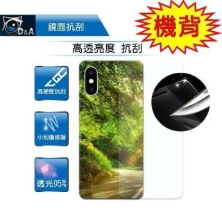 【D&A】Apple iPhone XR 日本原膜HC機背保護貼(鏡面抗刮)