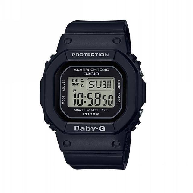 【CASIO 卡西歐】BABY-G 街頭時尚系列/40mm/黑(BGD-560-1)