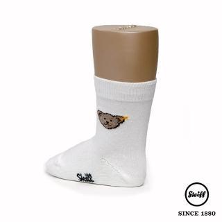 【STEIFF】熊熊 Baby 中筒襪 白色(童襪)