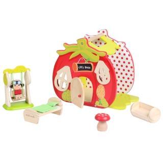 【KCFriends】C妹的番茄屋(木製娃娃屋)