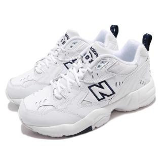 【NEW BALANCE】休閒鞋 WX608WTD 寬楦 運動 男女鞋 紐巴倫 經典 情侶 老爹鞋 明星款 穿搭 白 藍(WX608WTD)