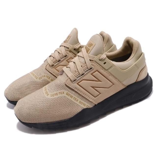 【NEW BALANCE】休閒鞋 MS247GTWD 襪套 運動 男鞋 紐巴倫 舒適 穿搭 GTX防水 球鞋 黃褐 黑(MS247GTWD)