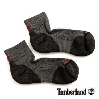 【Timberland】男款中灰色麻灰低筒襪(01066052)