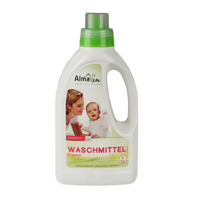 【德國Almawin】天然環保洗衣精-薰衣草750ml(直立、滾筒洗衣機皆適用)