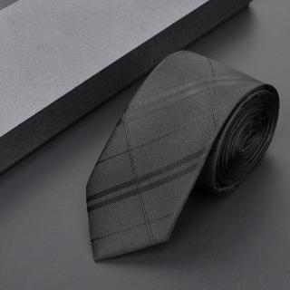 【拉福】領帶8cm寬版亂波領帶手打領帶