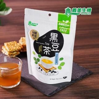 【義美生機】台灣黑豆茶100g(無咖啡因茶)