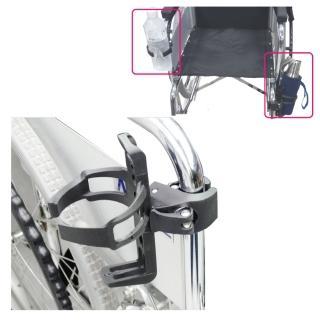 【感恩使者】輪椅用飲料架 ZHCN1785(輪椅使用者 單車族也適用 用途廣泛 飲料瓶、寶特瓶架、保溫瓶架)