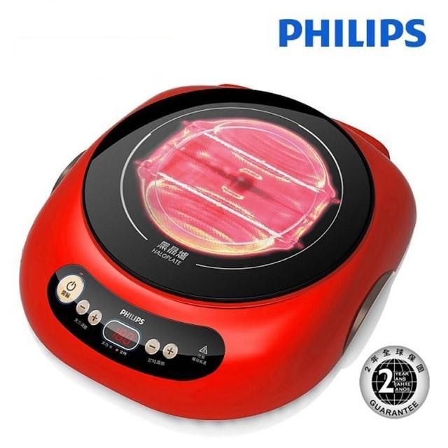 【Philips 飛利浦】不挑鍋黑晶爐 HD4989(HD4989)