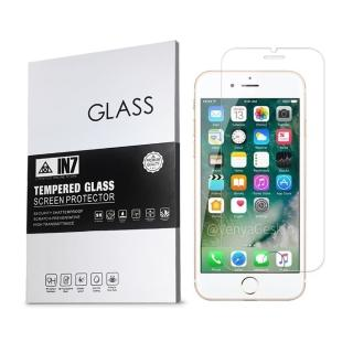 【IN7】APPLE iPhone 7/8 4.7吋 高透光 2.5D 半版鋼化玻璃保護貼(疏油疏水 鋼化膜 非滿版)