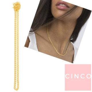【CINCO】葡萄牙精品 CINCO Hanna choker 24K金頸鍊 鎖骨鍊(925純銀)