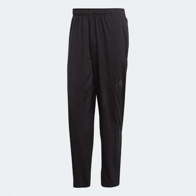 【adidas 愛迪達】長褲 Climacool Workout 男款 愛迪達 機能褲 錐型褲 透氣 涼感 黑(CG1506)