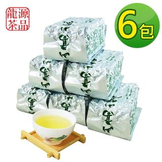 【龍源茶品】阿里山-頂級香醇金萱茶葉6包組(150g/包 - 共1.5斤/附提袋-冬茶鮮摘)