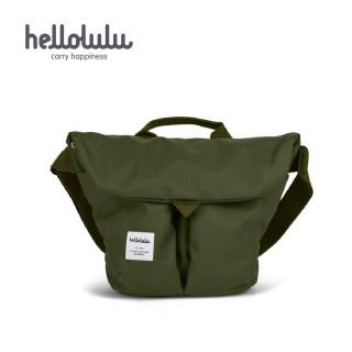 【hellolulu】Kasen 輕旅戶外側背包-橄欖綠(50147-26)