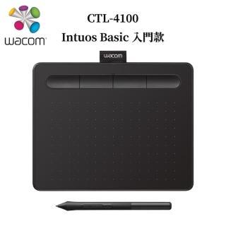 【Wacom】福利品★Intuos Basic 入門繪圖板-黑(CTL-4100/K0)