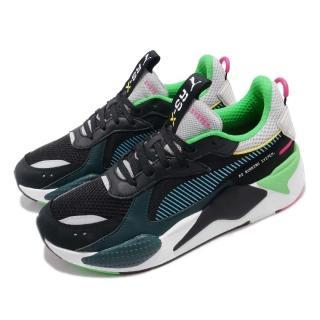 【PUMA】休閒鞋 RS-X Toys 運動 男鞋 經典 復古 穿搭 老爹鞋 舒適 黑 藍(36944901)