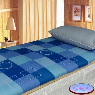 【雪妮絲】單人輕鬆自在冬夏桂竹床墊+1銀離子超值組(加碼送室內拖 x 1 )