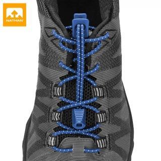 【NATHAN】快扣鞋帶 NA1160NR 藍(鞋帶、慢跑、三鐵、綁鞋帶、懶人鞋帶)