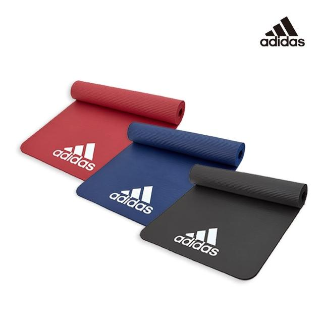 【adidas 愛迪達】Training 輕量防滑彈性運動墊-7mm(共2色)
