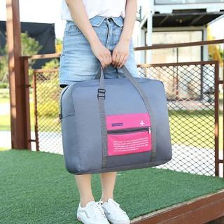 【E.City】限時買一送一-二合一折疊式拉桿手提袋(共2入)