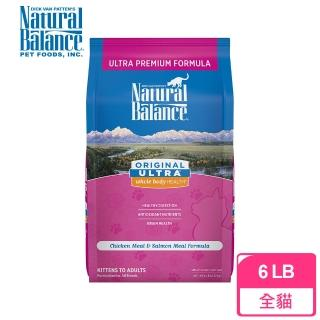 【Natural Balance】特級田園全貓調理配方-6磅(雞肉+鮭魚)