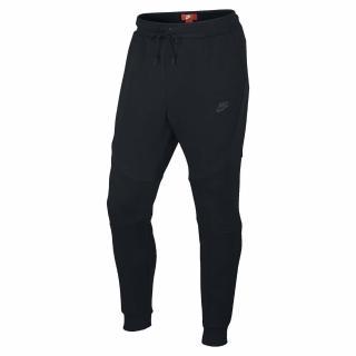 【NIKE 耐吉】長褲 NSW Tech Fleece 男款 縮口 拉鍊 舒適 運動休閒 流行穿搭 黑(805163-010)