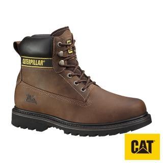 【CAT】HOLTON SB E FO HRO SRC 鋼頭鞋-咖啡(708025)