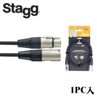 【Stagg 史提格】N系列 NMC6R 麥克風導線 6M(1pc入)