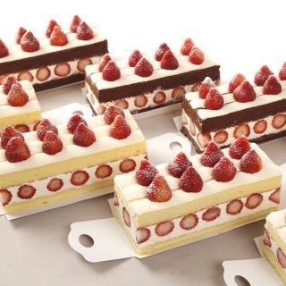 【基隆連珍】草莓香草蛋糕+巧克力蛋糕任選2條組