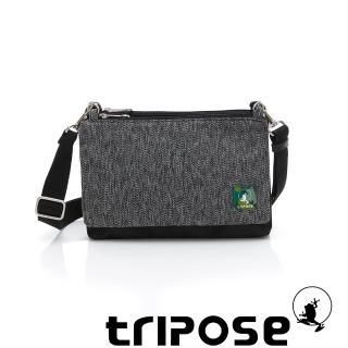 【tripose】MAJI系列 黑迷彩x黑岩紋多變斜背包(天蠍座)