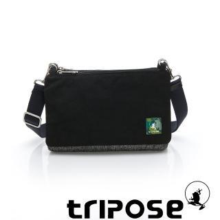 【tripose】MAJI系列 黑岩紋x潮感黑多變斜背包(金牛座)