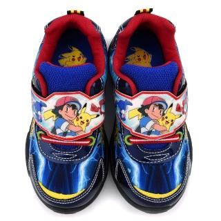 【童鞋城堡】神奇寶貝-寶可夢 中大童 寶可夢酷炫轉印運動鞋(PA5266-藍)
