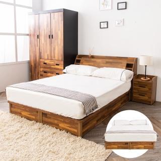 【時尚屋】喬納斯5尺床底 不含床頭箱-床頭櫃(免運 免組)