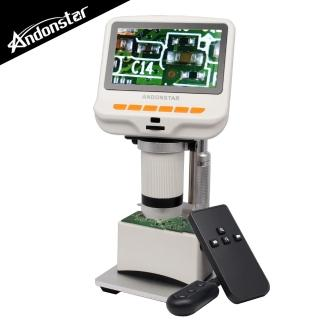 【Andonstar】4.3吋螢幕USB數位電子顯微鏡+LED底座平台(AD105S)