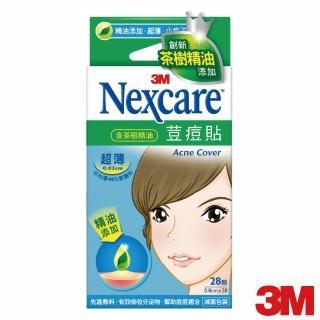 【3M】Nexcare 荳痘貼滅菌茶樹精油-超薄小痘型(痘痘貼/ETA028)