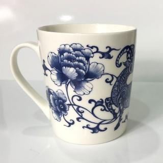 【青花皇后楊莉莉】生肖杯-羊(吉羊如意)