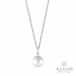 【A-LUXE 亞立詩】寵愛系列Beloved 18K金7-7.5mm淡水珍珠項鍊