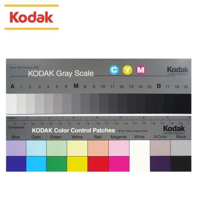 【Kodak 柯達】Q-13校色卡 -2片套裝(校色板)