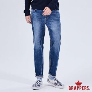 【BRAPPERS】男款 HM-中腰系列-褲口不收邊九分褲(藍)