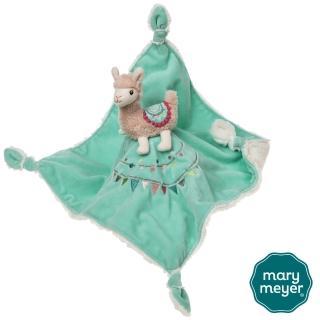 【Mary Meyer】柔軟安撫巾-羊駝莉莉(安撫巾 彌月禮 新生兒玩伴)