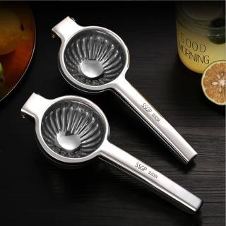 【PUSH!】餐具304不鏽鋼檸檬榨汁機果汁壓榨機器水果擠壓榨汁器(D159)