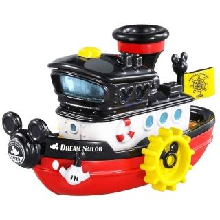 【TOMICA】迪士尼小汽車 蒸汽船造型小汽車(小汽車)