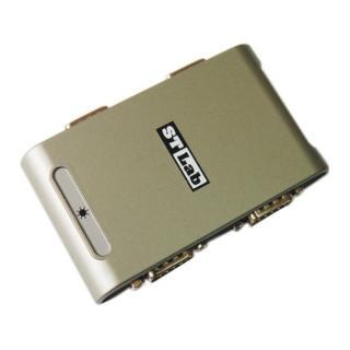 【ST-Lab】USB2.0 to RS232 輕巧設計 迷你便攜 4埠HUB(U-400)